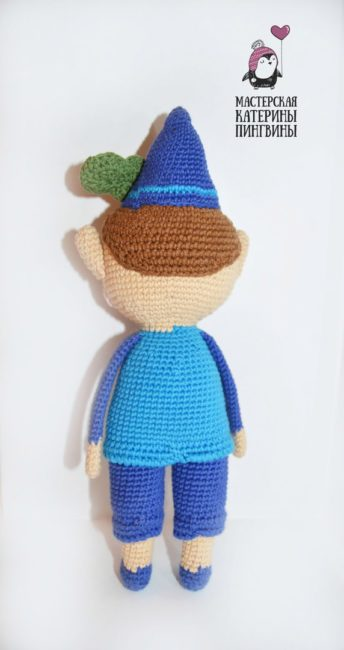 Схема куклы амигуруми крючком