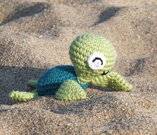 Морская черепаха амигуруми