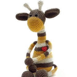 Жираф амигуруми схема крючком