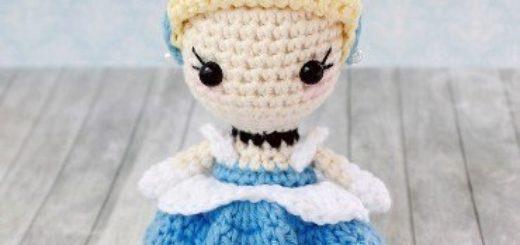 вязаная кукла адель схема амигуруми крючком Amiguroom